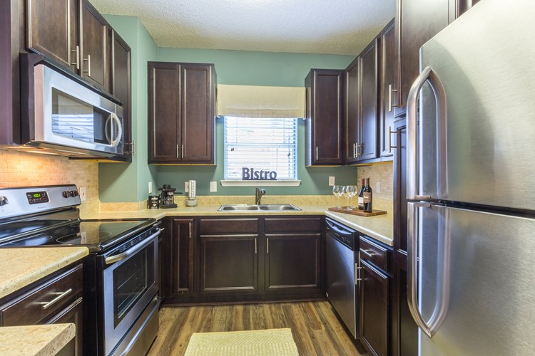 Kitchens Offer Generous Cabinet Space