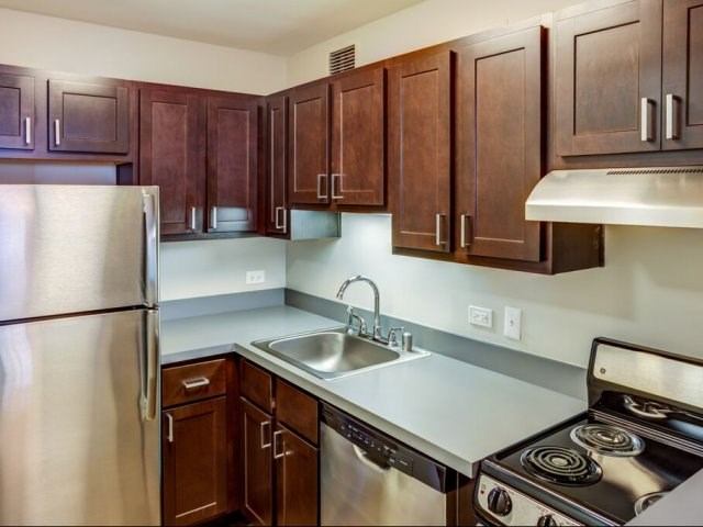 Newly Renovated Kitchens in Select Apartments