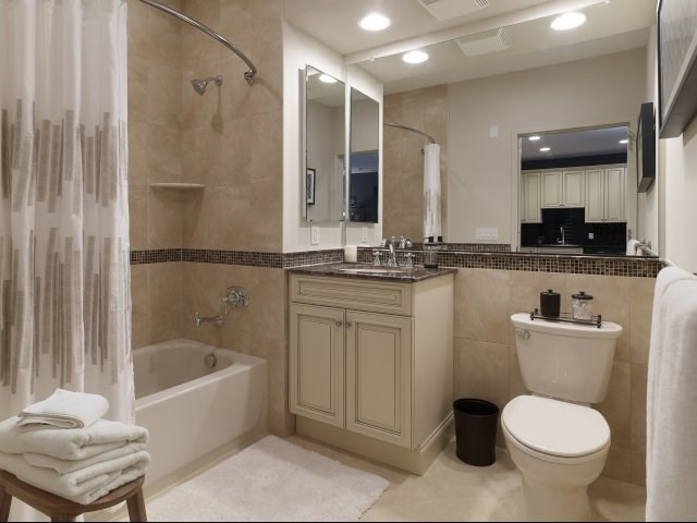 Bathrooms Feature Luxury Finishes