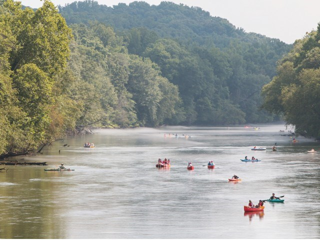 Close proximity to the Chattahoochee River