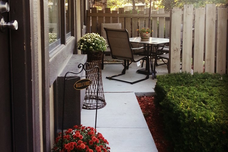 Your own patio area
