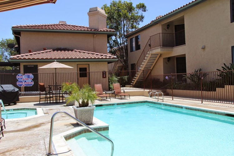 A private oasis awaits you in the form of a refreshing pool, spacious hot tub and gas grille for entertaining.